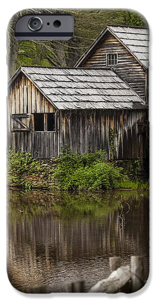 The Old Mill After the Rain iPhone Case by Amber Kresge
