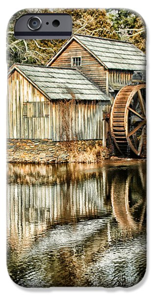 Old Mill Scenes iPhone Cases - The Old Mill iPhone Case by Darren Fisher