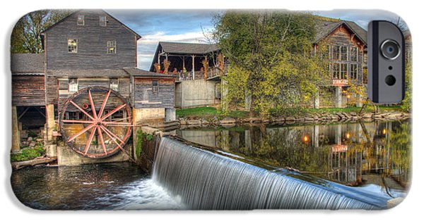 Grist Mill iPhone Cases - The Old Mill iPhone Case by Durro Mashburn