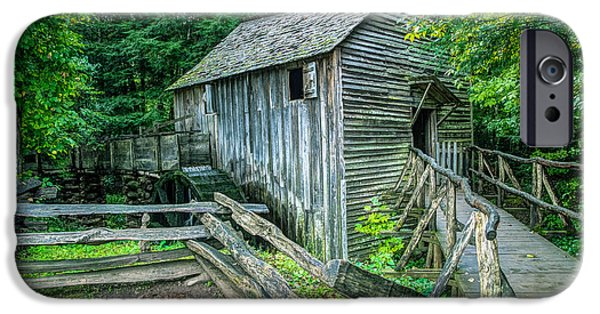 Grist Mill iPhone Cases - The Old Mill iPhone Case by Flora Ehrlich