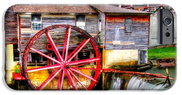Grist Mill iPhone Cases - The Old Mill iPhone Case by Mark Bowmer