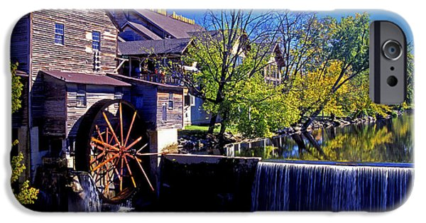 Grist Mill iPhone Cases - The Old Mill iPhone Case by Paul W Faust -  Impressions of Light