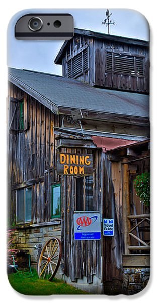 The Old Mill Restaurant - Old Forge New York iPhone Case by David Patterson