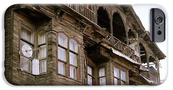 Balat iPhone Cases - The Old Ottoman House iPhone Case by Shaun Higson