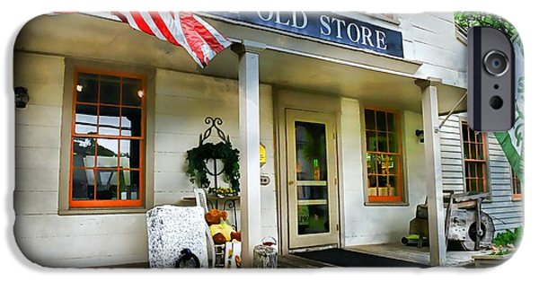 Country Store iPhone Cases - The Old Store iPhone Case by Diana Angstadt