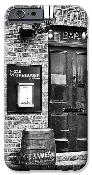Brick Schools iPhone Cases - The Old Storehouse iPhone Case by John Rizzuto