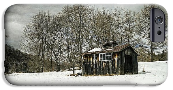 Shed iPhone Cases - The Old Sugar Shack iPhone Case by Edward Fielding