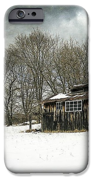 The Old Sugar Shack iPhone Case by Edward Fielding