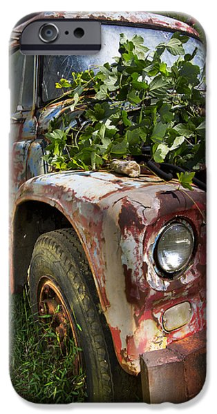 The Old Truck iPhone Case by Debra and Dave Vanderlaan