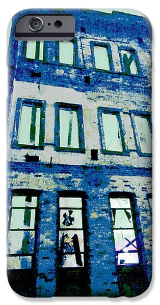 Guy Ricketts Photography iPhone Cases - The Old Wall iPhone Case by Guy Ricketts