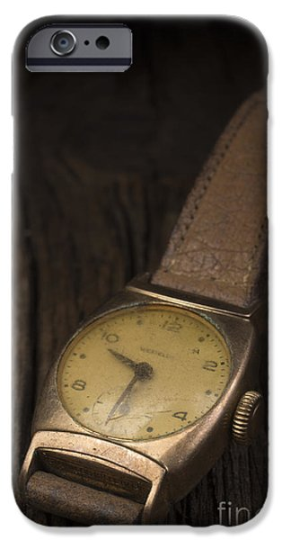 Cheap iPhone Cases - The Old Wrist Watch iPhone Case by Edward Fielding