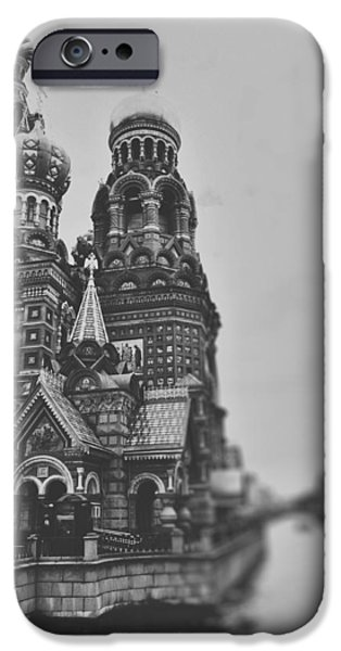 The Resurrection Of Christ iPhone Cases - The onion dome iPhone Case by Nastasia Cook