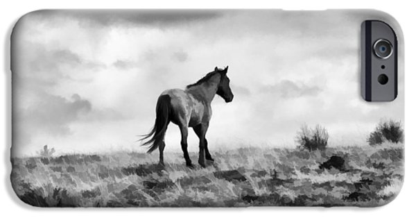 The Horse iPhone Cases - The Other Side iPhone Case by Steve McKinzie