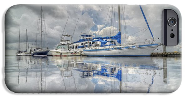 John Adams iPhone Cases - The Outer Pier iPhone Case by John Adams