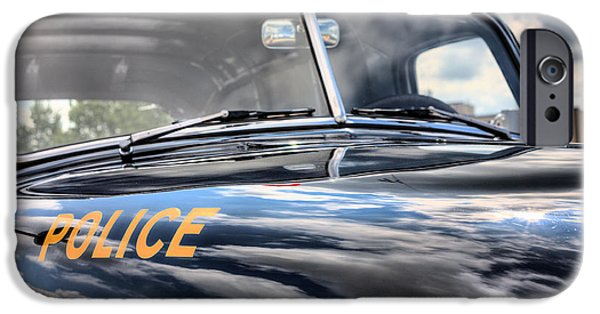 Police iPhone Cases - The Paddy Wagon iPhone Case by JC Findley