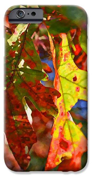 Susan Leggett iPhone Cases - The Painted Season iPhone Case by Susan Leggett