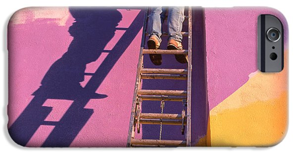Painter Photographs iPhone Cases - The Painter iPhone Case by Don Spenner
