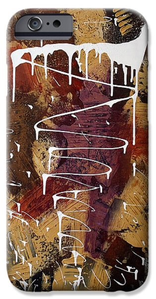 The Painter's Keys iPhone Case by Laura Barbosa