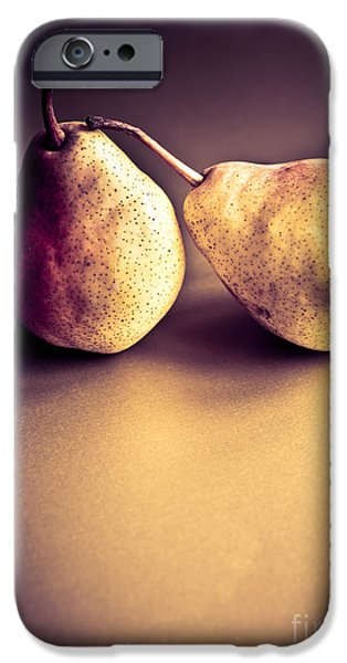 Pears iPhone Cases - The Pair iPhone Case by Jan Bickerton