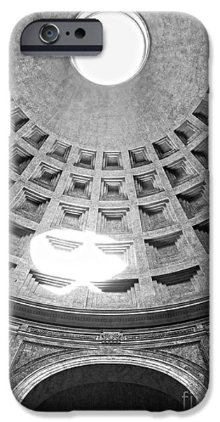 Recently Sold -  - Ruin iPhone Cases - The Pantheon - Rome - Italy iPhone Case by Luciano Mortula