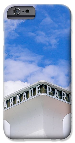 The Parkade  iPhone Case by Daniel Baumer