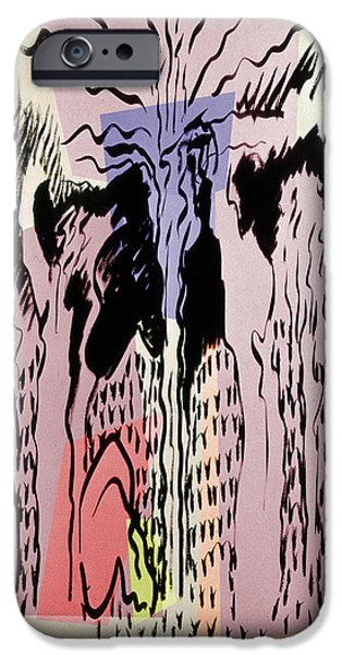 Life Of Christ Drawings iPhone Cases - The Passion 2 iPhone Case by Guy Ciarcia