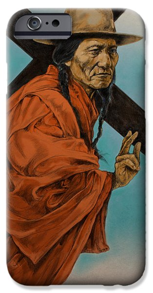 War iPhone Cases - The Passion  iPhone Case by Derrick Higgins