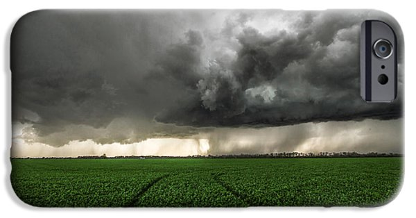 Lightning Photographer iPhone Cases - The Path Less Traveled iPhone Case by Sean Ramsey