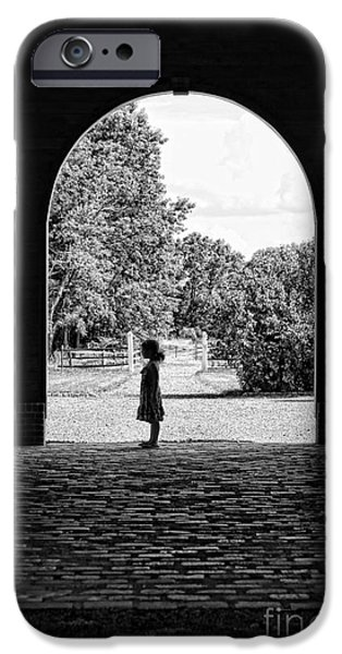Daughter Gift iPhone Cases - The Path of Childhood Memories  iPhone Case by Lee Dos Santos