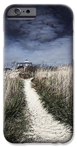 Pathway iPhone Cases - The Pathway Home iPhone Case by Tom Gari Gallery-Three-Photography
