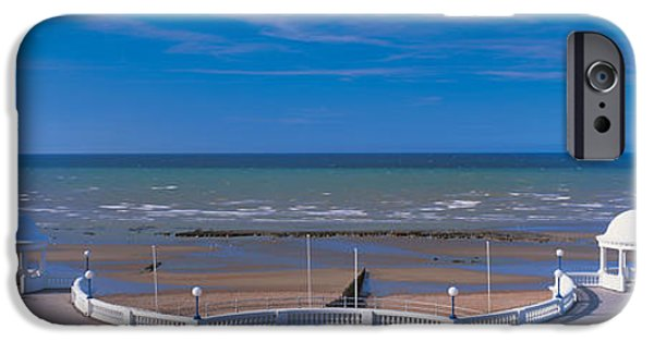 Beach iPhone Cases - The Pavilion Bexhill E Sussex England iPhone Case by Panoramic Images