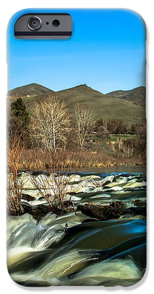 The Payette River iPhone Case by Robert Bales