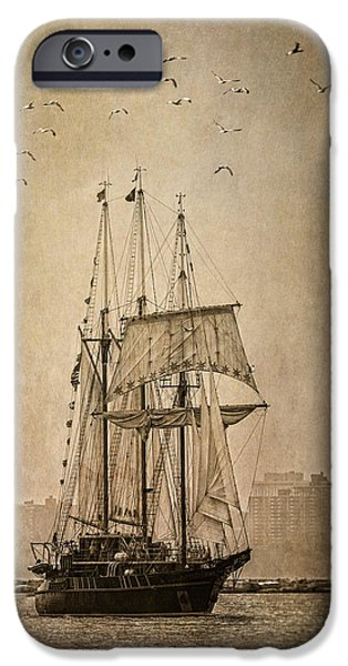 Pirate Ship iPhone Cases - The Peacemaker iPhone Case by Dale Kincaid