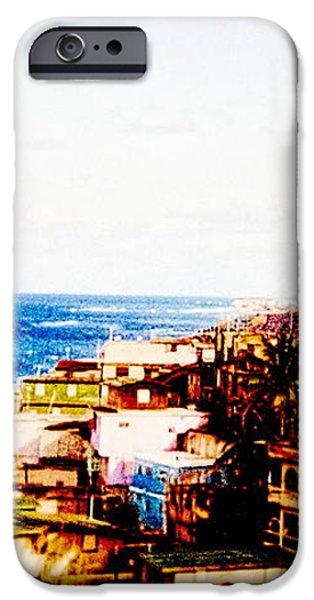 The Pearl Of Old San Juan iPhone Case by Sandra Pena de Ortiz