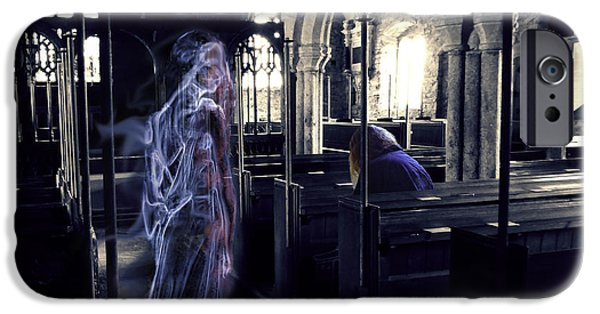 Haunted House iPhone Cases - The Penitent iPhone Case by Nigel Follett