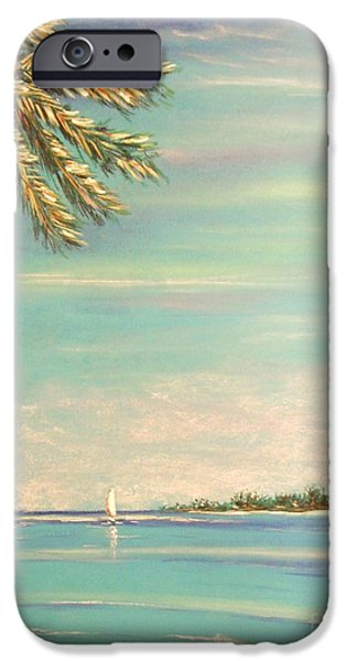 Beach Landscape Pastels iPhone Cases - The Perfect Day iPhone Case by The Beach  Dreamer