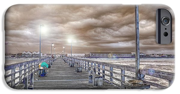 Topsail Island iPhone Cases - The Perfect Storm iPhone Case by Betsy A  Cutler
