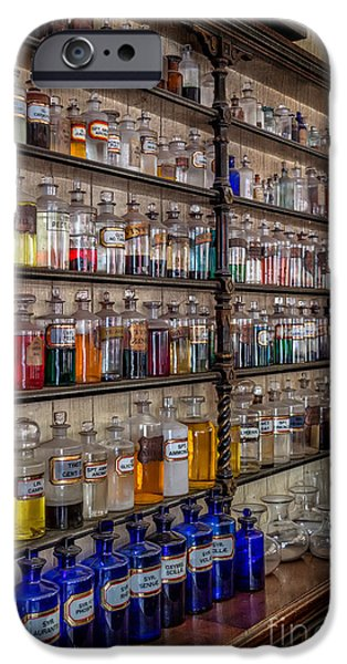 Pharmacy iPhone Cases - The Pharmacy iPhone Case by Adrian Evans