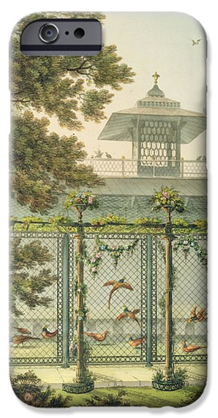 Aviary iPhone Cases - The Pheasantry iPhone Case by Humphry Repton