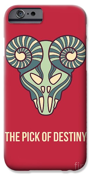 Destiny iPhone Cases - The pick of destiny iPhone Case by Freshinkstain