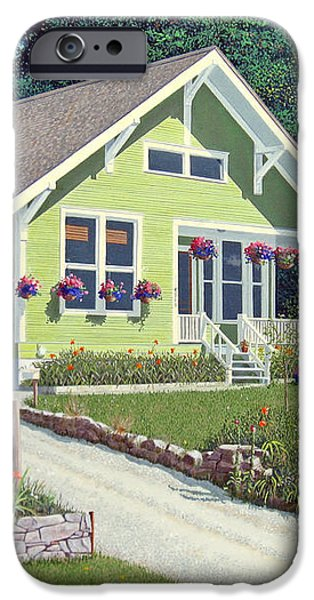 The Pickles house iPhone Case by Gary Giacomelli