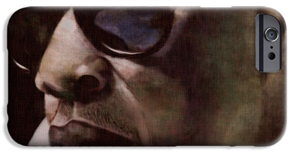 Jay iPhone Cases - The Pied Piper of Intrigue - Jay Z iPhone Case by Reggie Duffie