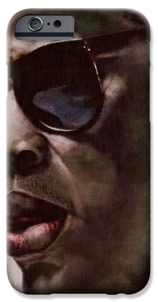 The Pied Piper of Intrigue - Jay Z iPhone Case by Reggie Duffie