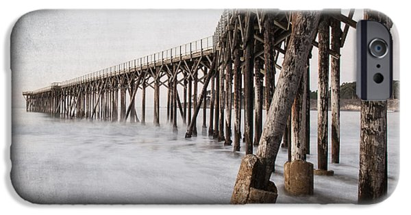 Marine iPhone Cases - The Pier iPhone Case by George Buxbaum