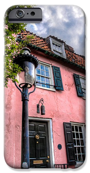 Recently Sold -  - House iPhone Cases - The Pink House  iPhone Case by Walt  Baker