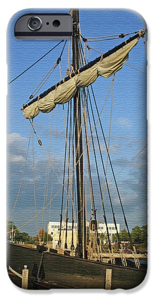 The Pinta iPhone Case by Kay Novy