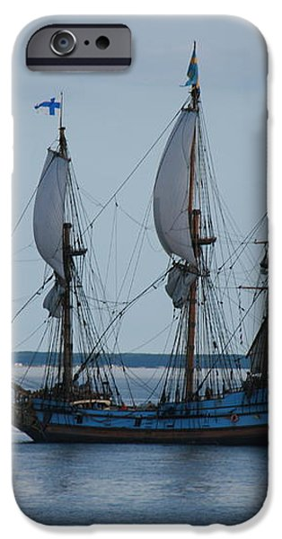 The Pirate Ship iPhone Case by Cecelia Helwig