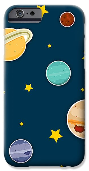 Venus iPhone Cases - The Planets  iPhone Case by Christy Beckwith