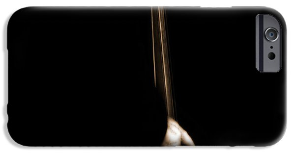 Bassist iPhone Cases - The Player iPhone Case by Steven  Digman