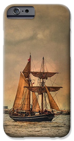 Tall Ship Digital iPhone Cases - The Playfair iPhone Case by Dale Kincaid